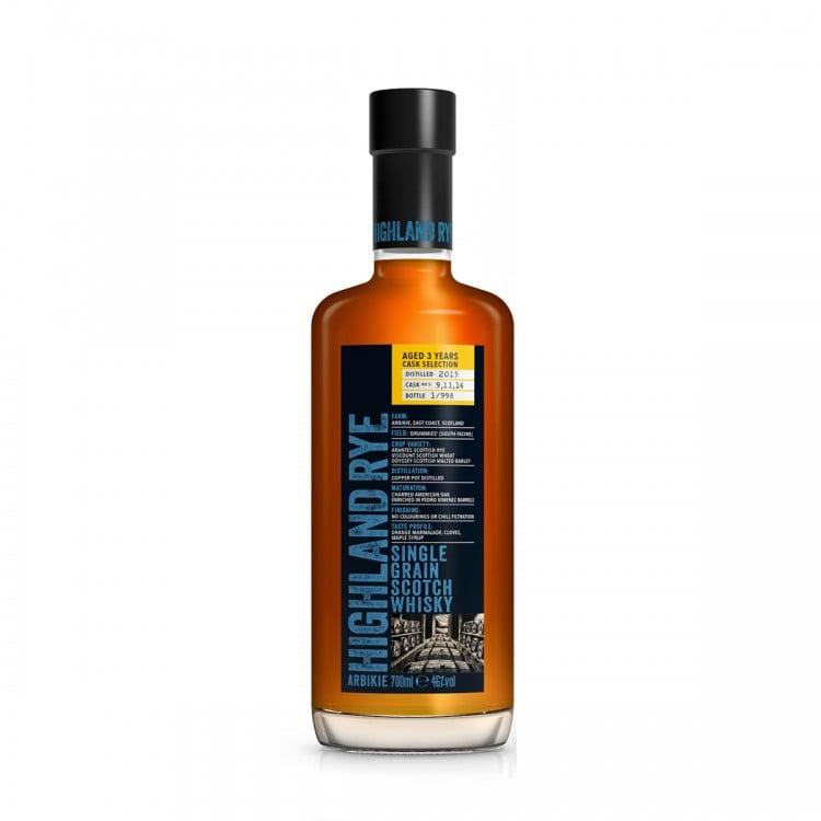 Whisky Highland Rye invecchiato 3...