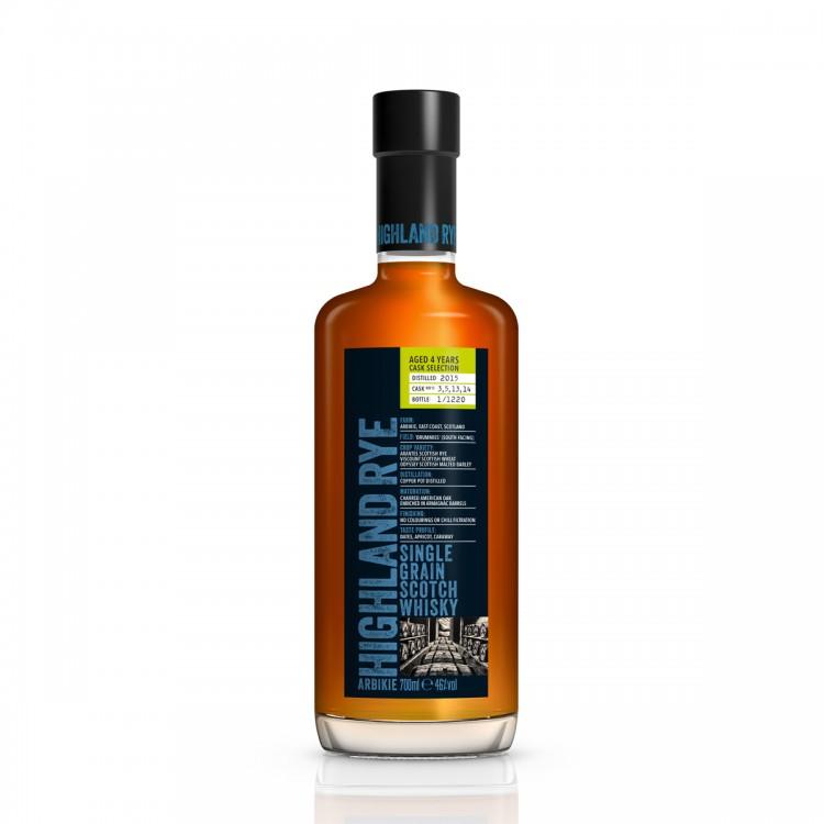 Whisky Highland Rye invecchiato 4...