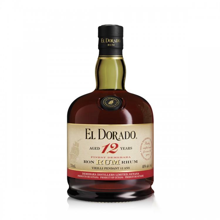 Rum Demerara El Dorado 12Y astucciato