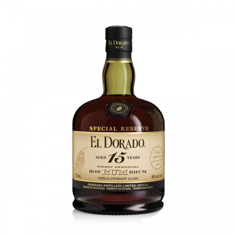 Rum Demerara El Dorado 15Y astucciato