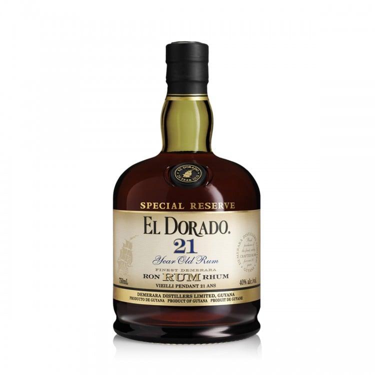 Rum Demerara El Dorado 21Y astucciato