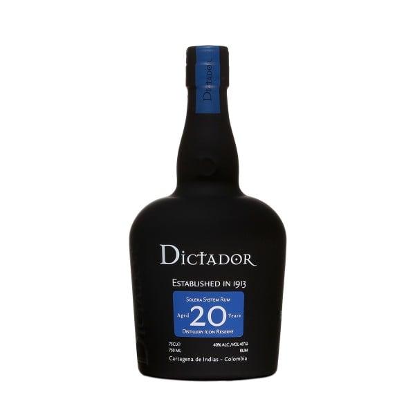 Rum Dictador 20Y astucciato