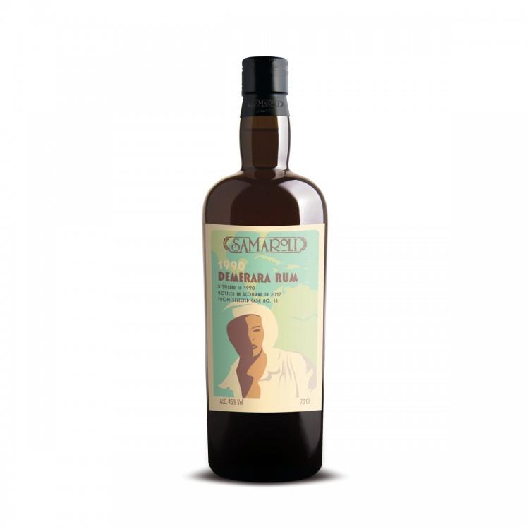 Rum Samaroli Demerara 1990 edizione 2017