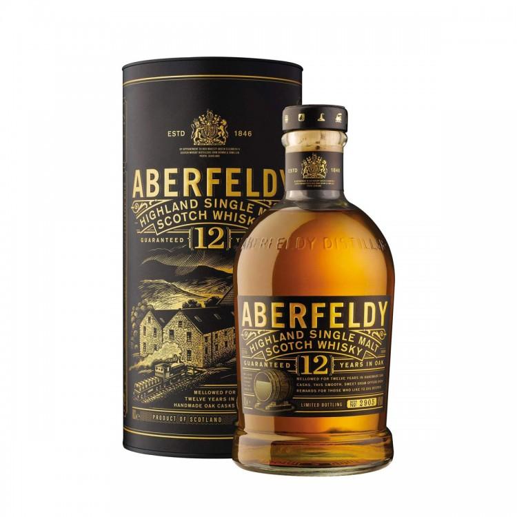 Whisky Aberfeldy 12 Y - Astucciato