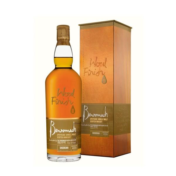 Whisky Benromach Sassicaia...