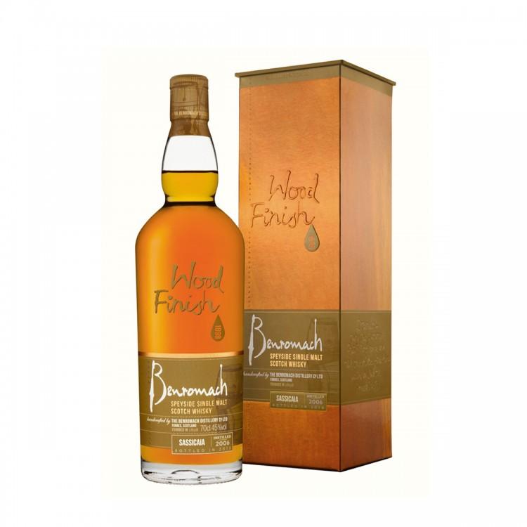 Whisky Benromach Sassicaia Wood...