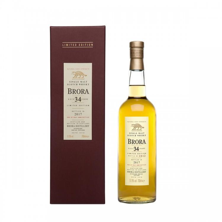 Whisky Brora 34 Y Special Release...