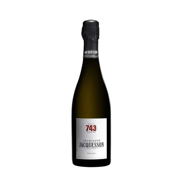 Champagne Cuvée n° 743...