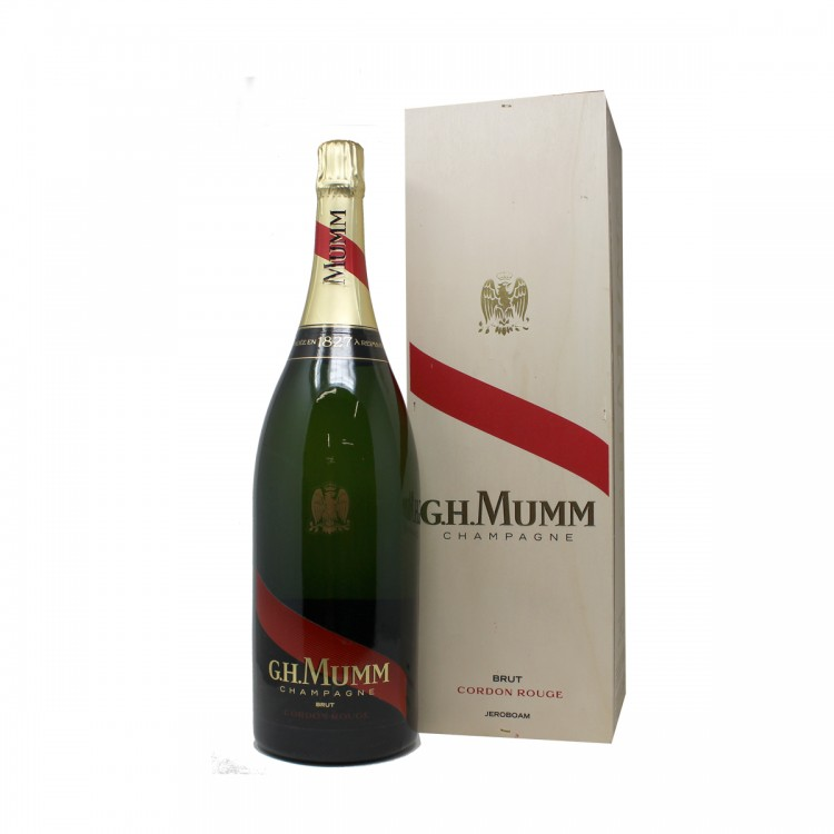 Champagne Cordon Rouge Jeroboam cassa...