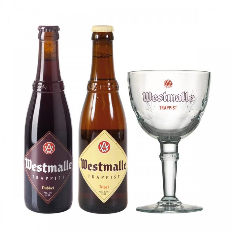 Confezione Westmalle - 2 bottiglie da...