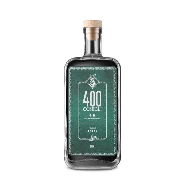 Gin 400 Conigli Basilico