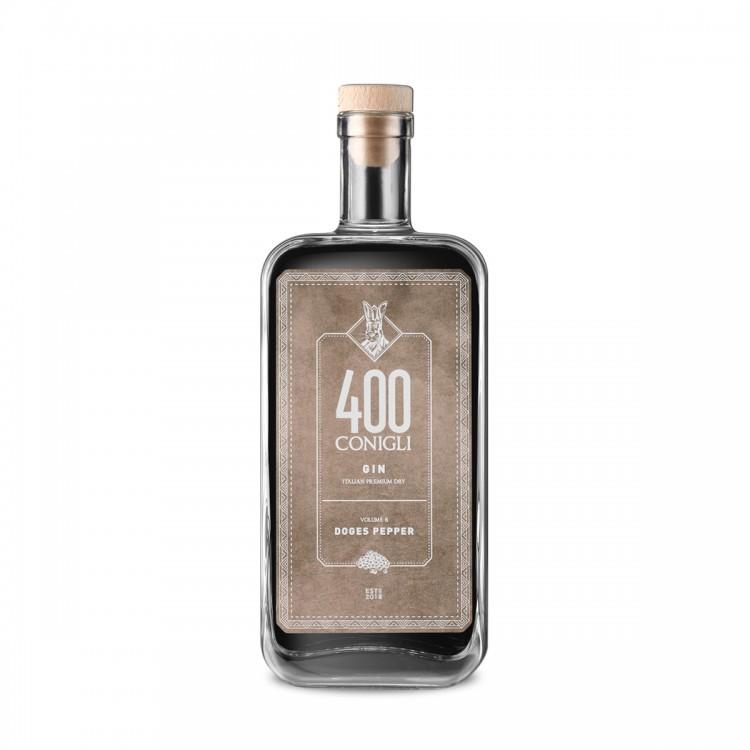Gin 400 Conigli Dogges Pepper