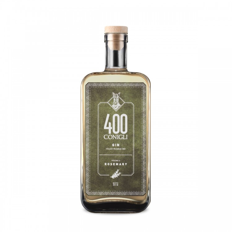 Gin 400 Conigli Rosmarino