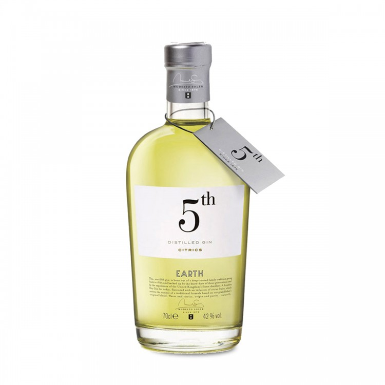 Gin 5th Earth Citrics