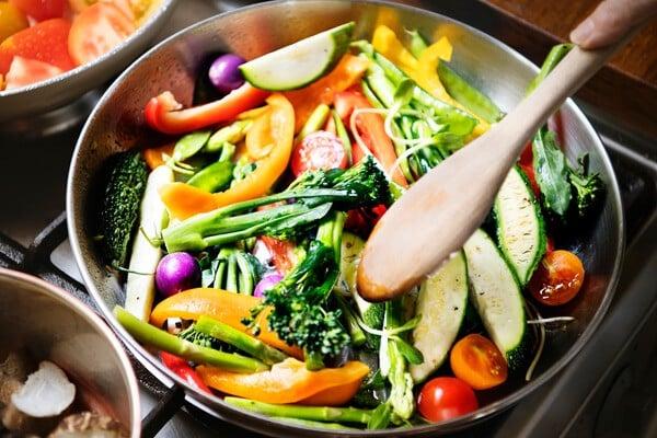 Primi piatti light a base di verdure