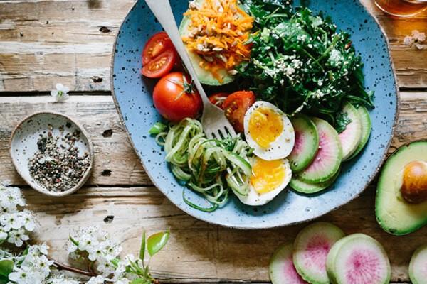 Piatti vegetariani light